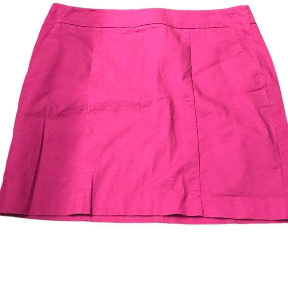 Ann Taylor Madison skirt 10 plum